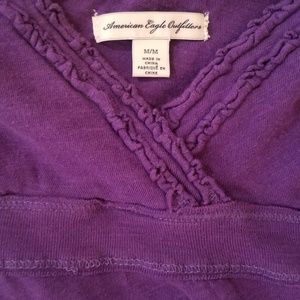 American Eagle Outfitters Tops - American Eagle purple detailed cami